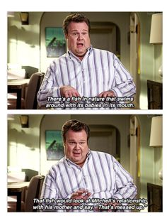 Modern Family. Cam's my favorite