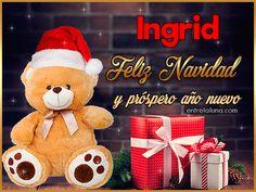 Feliz Navidad y próspero año nuevo Ingrid