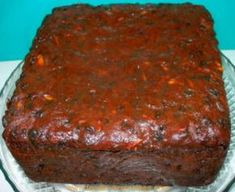 This rich Fruit Cake is from the old school - handed down to me on the back of an envelope. Microwave Baking, Microwave Recipes, Baking Recipes, Milktart Recipe, Christmas Cake Recipe Traditional, Kos, Microwave Chocolate Cakes, Milk Bread Recipe, Best Cake Recipes