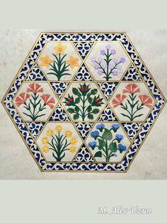 Alev Uzun Islamic Art Pattern, Pattern Art, Pink Mosque, Turkish Pattern, Islamic Paintings, Art Articles, Indian Folk Art, Madhubani Painting, Turkish Art