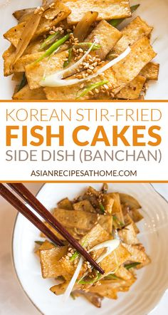 Korean Stir-fried Fish Cake (Bokum Odeng) – This Korean Stir-fried Fish Cake (bokum odeng) recipe is so easy and tasty. Learn how to make this popular Korean fish cake side dish (banchan, 반찬) with our simple recipe. Full recipe at AsianRecipesAtHom…. Korean Side Dishes, Korean Fish Cake Side Dish Recipe, Side Dish Recipes, Fish Recipes, Mexican Food Recipes, Easy Korean Recipes, Asian Recipes, Asian Desserts, Banchan Recipe