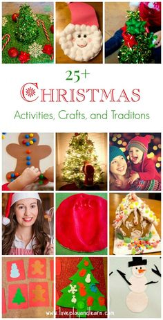 25+ Christmas Activities for Kids, Christmas Crafts, and Traditions for Families!
