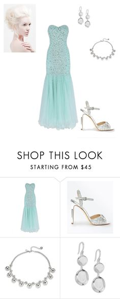 """""""Elsa inspired ~ my little sister's first set 😊"""" by valaquenta ❤ liked on Polyvore featuring New Look, Kate Spade and Ippolita"""