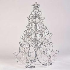 Tabletop Crystal Droplet Tree