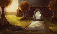 Setting inspiration -- Spyro 2:Ripto's Rage -- Autumn Plains