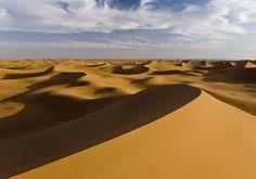 Le désert du Sahara, au Maroc
