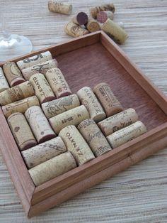 Wine Cork Trivet Kit  reclaimed wood DIY craft kit by TheWoodenBee, $17.00