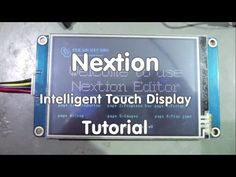 #56 Inexpensive Intelligent Touch Displays for Arduino, ESP8266, and other: Nextion (Tutorial) - YouTube