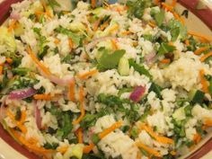 Lemon-Herb Rice Salad, great for cookouts or potlucks in the spring or summer!