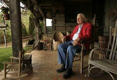 Billy Graham at 90 yrs old at his Humble home in Charlotte North Carolina Mountains.