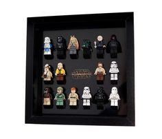 Lego Star Wars Frame Display Mount, minifigure minifig LASER CUT acrylic  FREE p&p