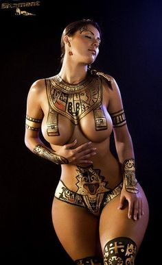 Sexy Tribal woman - www.sex-maps.com