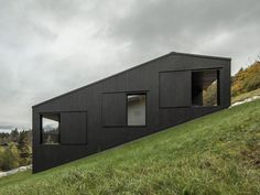 EFH Groth is a beautiful house with a natural and simple aesthetic, located in Lofer, Austria, designed by LP architektur.