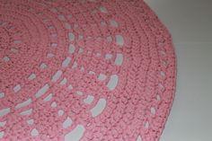 Zacht roze, diameter 115 - 145 centimeter