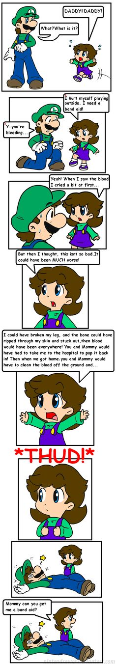 kids say the darndest things by Nintendrawer.deviantart.com on @deviantART