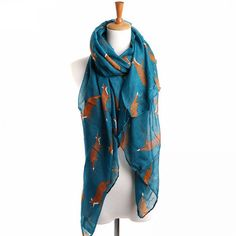 Cheap pashmina shawls, Buy Quality fashion shawls directly from China womens scarfs fox Suppliers: Fashion Women Scarf Fox Animal Print Infinity Ring Wraps 7 Colors Long Length Bufandas Mujer 2015 Female Pashmina Shawls Loop Scarf, Scarf Wrap, Burgundy Scarf, Vintage Fox, Fall Scarves, Green Scarves, Cheap Scarves, Fox Print, Pashmina Shawl