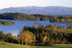 Lake Tellico Near Knoxville, Tennessee