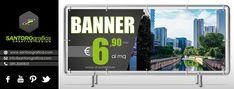 super offerta - stampa su banner € 6,90 + iva al metro, inclusa di occhiellatura.  #siamoimpazziti #superofferta #promo #solodasantorografica #inumeriuno