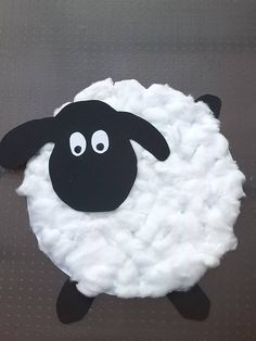 This section has a lot of sheep craft ideas for kids, parents and preschool teachers. Teachers can use these sheep crafts for child edusheepion. Sheep Crafts, Vbs Crafts, Preschool Crafts, Arts And Crafts, Toddler Themes, Toddler Crafts, Spring Crafts For Kids, Art For Kids, Rhyming Preschool