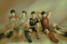 captains, ushijima, oikawa, sawamura, kuroo, bokuto, resting, HQ!! LOG [7], 55933292