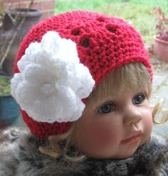 PATTERN RoseBerry Cloche Hat for Baby/Child INSTANT by carolrosa, $2.89