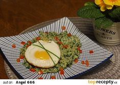 Bulgur se špenátem a ricottou recept - TopRecepty. Avocado Egg, Avocado Toast, Ricotta, Eggs, Breakfast, Food, Bulgur, Morning Coffee, Essen