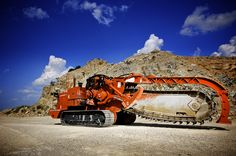 King of the Ditch Witch mountain, the HT330 Track Trencher!