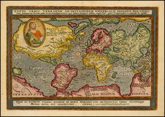 Map of the World from ca 1600