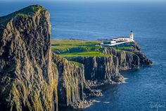 Neist Point Lighthouse - null Lighthouse, Landscapes, Water, Outdoor, Bell Rock Lighthouse, Water Water, Light House, Paisajes, Aqua