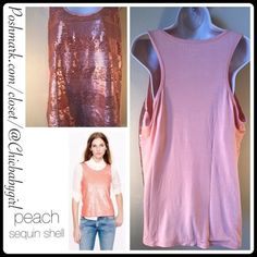 "MESH SEQUIN TANK Size--XL (16-20) NWOT $69 Retail + Tax  *Add some sparkle to the drabs *Racer back tank *Mesh sequin front-lined  *About 27"" from shoulder to hem *Armpit to armpit 22"" *This tank has lots of stretch *95% rayon/5%spandex *Hand wash   2+ BUNDLE=SAVE  ‼️NO TRADES--NO HOLDS--NO MODELING   Designer Items Authentic   ✈️ Ship Same Day--Next Day (Purchase Before Noon for Same Day)   USE BLUE OFFER BUTTON TO NEGOTIATE   ✔️ Ask Questions Not Answered In Description--Want You To Be…"