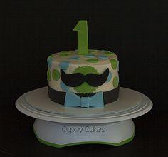 Mustache Smash Cake | Flickr - Photo Sharing!