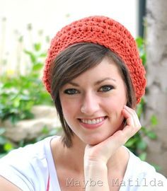 how to wear a winter hat with short hair - Google Search