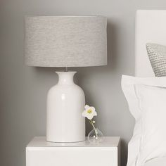Find The White Company home at ShopStyle. Shop the latest collection of The White Company home from the most popular stores - all in one place. Table Lamps For Bedroom, White Table Lamp, Bedside Table Lamps, Ceramic Table Lamps, Lamp Table, Bedroom Decor, Bedroom Ideas, White Lamps, Bedroom Furniture