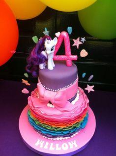 ¡No te pierdas estas hermosas tortas y dulces de My Little Pony! #Reposteria