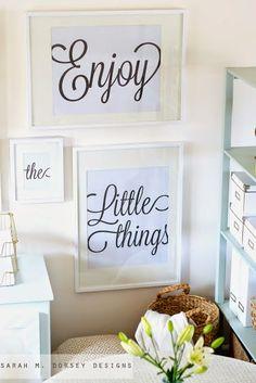 imprimibles disfruta, pequeñas cosas etc