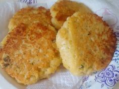 Great recipe for Couscous Cakes. We always have leftover couscous from dinner. I make these tasty little treats the day after to use it up!