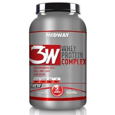 Protéicos - 3W Whey Protein Complex