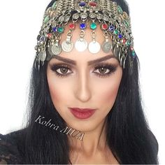 Afghan Head piece http://www.zarinas.com/jewelry.shtml