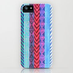 PATTERN {Peru Stripe} iPhone Case by Schatzi Brown - $35.00