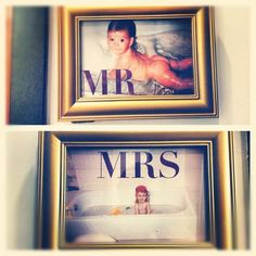 Adorable #Wedding Restroom Signs !!! (Taken with Instagram)