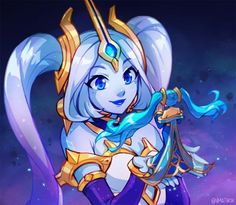 Nami League Of Legends, Female Character Concept, Character Reference, Female Characters, Fictional Characters, Freelance Illustrator, Alien Logo, Memes, Games To Play