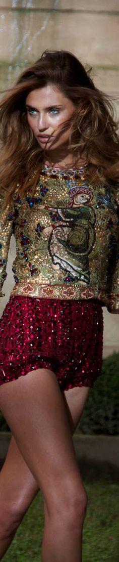 Bianca Balti for Dolce  Gabbana