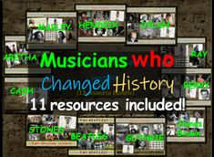 Learning Music, Microsoft Word Document, Grades, Primary Sources, History Class, Microsoft Powerpoint, Google Docs, Nobel Prize, Johnny Cash