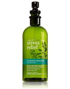 Bath & Body Works Aromatherapy Eucalyptus Spearmint Stress Relief Pillow Mist 5.3 Oz