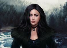 The Witcher Wild Hunt – Gameplay Story The Witcher Books, The Witcher Game, Witcher Art, Witcher 3 Wild Hunt, Best Portraits, Character Portraits, Character Art, Gothic Girls, Fantasy Characters