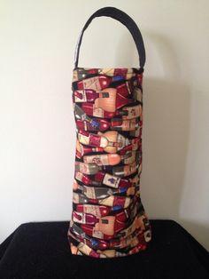 Wine carry bag  on Etsy, $20.00 AUD