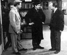 "Hancock's Half Hour (TV, 1956-1960) in ""The Missing Page"" Hancock heads to the library so that he can find out why the last page to his crime thriller had been torn out."