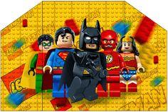 De todo para el cumple Lego Superheroes. Printables en buena calidad y gratis!!!