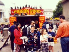 #TBT The Pigeon King of London will make his triumphant return in 17 days. Also more importantly WHAT THE HELL AM I WEARING? by cemartin