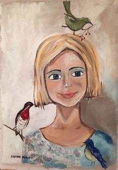 "Elsabet : Oil, 20"" x 24"" SOLD Disney Characters, Fictional Characters, Oil, Disney Princess, Artist, People, Painting, Artists, Paintings"